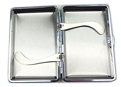 Etui 4420 edle Zigaretten etuis Zigaretten box genähtes Leder mit Samt Etui viele Modelle (Champ S) von Valice Paris®