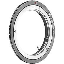 Neewer® Adaptador de montaje de lentes para Olympus OM Zuiko Lentes a Canon EOS EF Cuerpo de cámara, Queda Canon EOS 1D 1DS Mark II III IV 5D Mark II 7D 40D 50D 60D 70D 550D 600D 650D 700D 100D 1100D