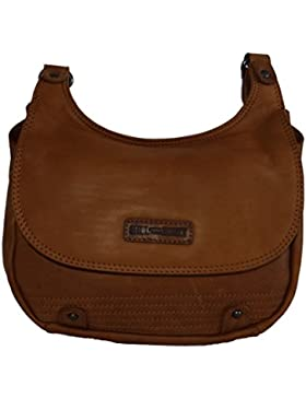 Hill Burry Tasche, Ledertasche,Vintage, Damen,Handtasche, Umhängetasche cognac