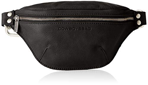 Cowboysbag Damen Fanny Pack Dixon Baguette, Schwarz (000100-Black), 7x12x24 cm (Belt-packs)