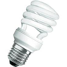 Osram Dulux Lampada Fluorescente Compatta E27, 23 W, Bianco