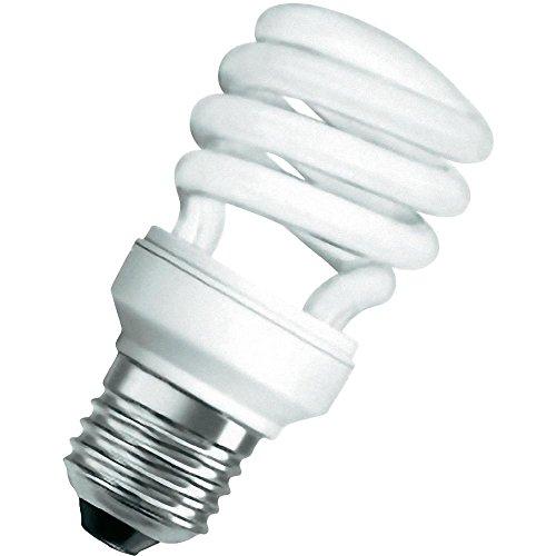 Osram Dulux Twist Energiesparlampe, E27-Sockel, 23 Watt, Warmweiß - 2700K