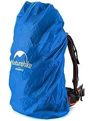 NatureHike Naturehike que dobla la cubierta a prueba de polvo impermeable de la mochila del morral 20 ~ 75L para el viaje que completa un ciclo la escalada que va de excursión los deportes al aire libre (Blue, 20-30L)