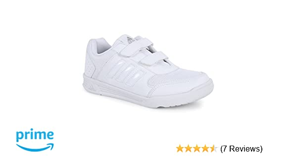 Adidas White School Shoes - Sports Shoes Kids Range (3 to 12 Years)  Buy  Online at Low Prices in India - Amazon.in eb98e3ac2
