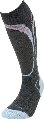 Lorpen Damen Merino Wandersocken TCXTM Midweight Ski Socken Medium dunkel (Ski Merino Lorpen Socken)