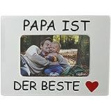 Fotorahmen Bilderrahmen Papa ist der Beste zum Danke sagen Geschenk zum Vatertag Geburtstag Geschenkidee für jeden Anlass