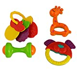 Rvold Rattle Set With Teether Of 4 Piece...