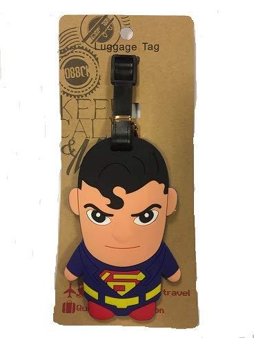 Etiqueta para Maleta Superman