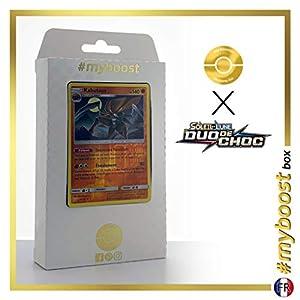 Kabutops 78/181 Holo Reverse - #myboost X Soleil & Lune 9 Duo de Choc - Box de 10 Cartas Pokémon Francés