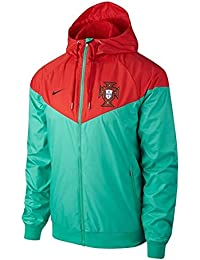 Nike 2018-2019 Portugal Authentic Woven Windrunner Jacket (Green)