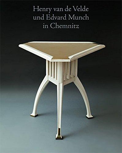 Henry van de Velde und Edvard Munch in Chemnitz Buch-Cover