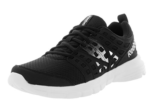 Reebok velocità di salita scarpa da corsa Black/White/Royal/Silver