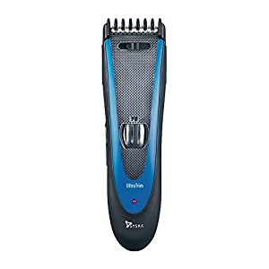 Syska HT1309 Hair and Beard Trimmer (Black/Blue)