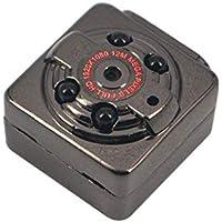 KUNCC 180Mah Pequeña Cámara, Visión Nocturna Infrarroja De Cuatro Lámparas 1080P Mini DV, Cámara De Deportes Mini DV,