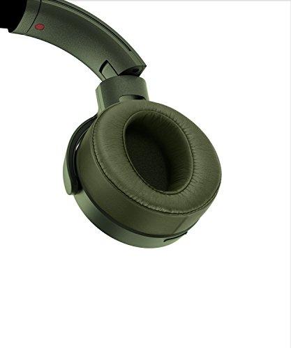 Sony MDR-XB950N1 kabelloser Kopfhörer mit Geräuschminimierung (Noise Cancelling, Extrabass, NFC, Bluetooth, faltbar) grün - 9