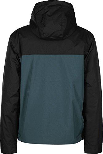 Iriedaily Insulaner Throwover coupe-vent noir vert