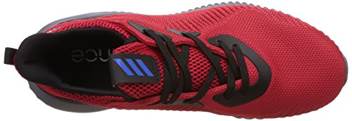 adidas Alphabounce J, Scarpe da Ginnastica Unisex – Bambini Rosso (Escarl/Azul/Negbas)