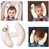 1pc Baby Kid Head Neck Support Baby Car Seat Pillow Trolleys Adjustable Child Neck Care