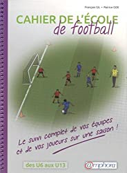 Cahier de l'école de football - Le suivi complet de vos équipes et de vos joueurs sur une saison !