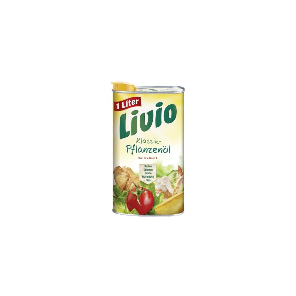 Livio Klassik Pflanzenl 6er Pack 6 X 1 L