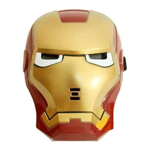 everything4less-uk Party LED Light Ironman Gesicht Maske für Kinder/Kids ()