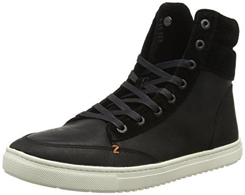 Hub Bassi L47 Schwarz nero 156 Sneakers Homme Millennio FAFqvwxr8
