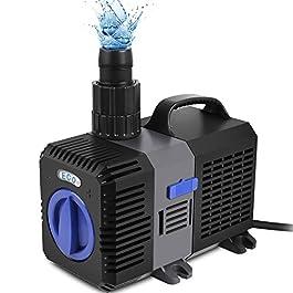 Forever Speed Super Eco Pompa Filtro Pompa Laghetto Pompa a risparmio energetico acqua Pompa per ruscello 3000l/h 10W