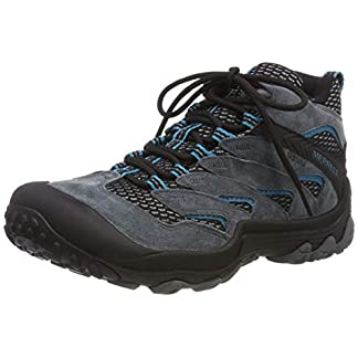 Merrell Women's Cham 7 Limit Mid Waterproof High Rise Hiking Boots 5