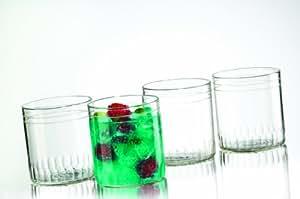 Borosil Vision Glasses Leo Set, 305ml, Set of 6