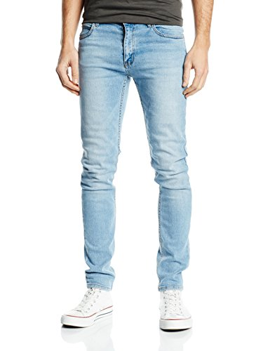Cheap Monday Tight Stonewash Blue, Blu Uomo, Blu (Stonewash Blue), W31/L32