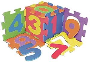 VEDES Großhandel GmbH - Ware 73007402Outdoor Active Alfombrillas con números, Multicolor