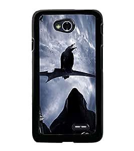 Fuson Designer Back Case Cover for LG L70 :: LG L70 Dual (Devilish Dangerous Alien Extra Terrestrial Unearthly)