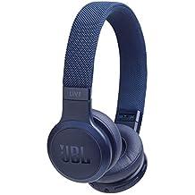 JBL LIVE 400BT Cuffie Sovraurali Bluetooth, Cuffie On Ear Wireless con Microfono, Assistente Google e Alexa, JBL Signature Sound, Leggere e Pieghevoli, fino a 24h di Autonomia, Blu