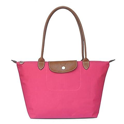 YAAGLE Handtasche Damen Nylon Schultertasche für Shopper Strand Reise