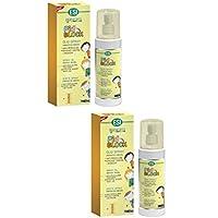 Preisvergleich für 2Esi PID Block Öl Spray 100ml gegen Läuse und Nissen sanft mit Haar
