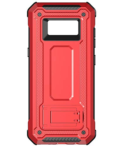 ad6831703e0 KUAWEI Coque Samsung Galaxy S8 Cover Slim Armure Series - Lourde Hybride  Protège -Corps Complet