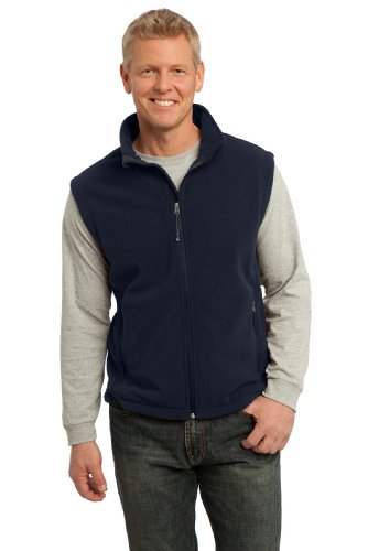 Port Authority da uomo Value gilet in pile Blu navy