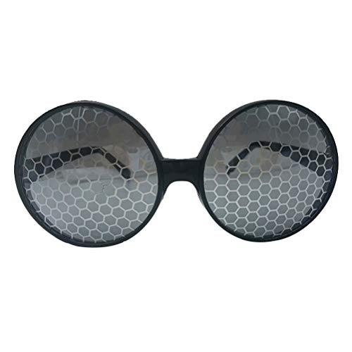 Aviator Mädchen Kostüm - Amosfun Lustige Brille Party Sonnenbrille Neuheit Kostüm Sonnenbrille Zubehör für Jungen Mädchen