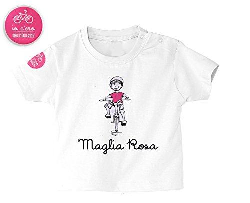 Baby T-shirt Giro d'Italia Maglia Rosa (6-12 months)
