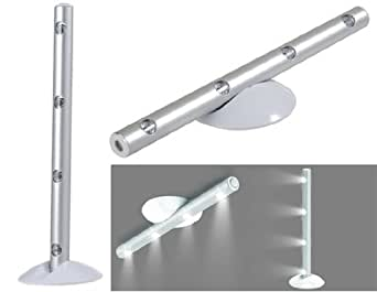 TR Colonne 4-Lampe LED Sauvegarder Lampes (3 piles AAA)