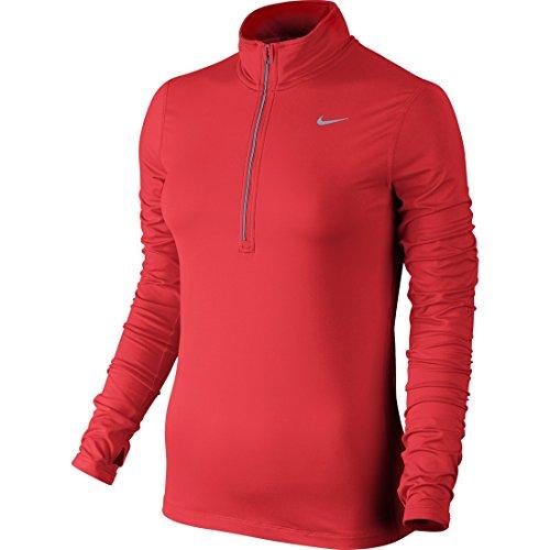 longues Half Lt Crimson Top Silv Rouge Element Zip Reflective manches Nike à Femme z6wYRqx5x