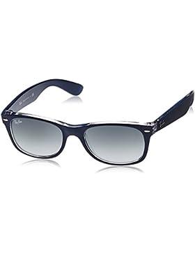 Ray Ban MOD. 2132, Gafas de Sol Unisex, Azul (Blue/Grey Gradient), 52 mm