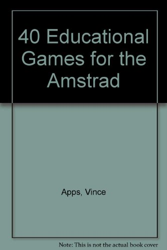 40 educational games for the Amstrad