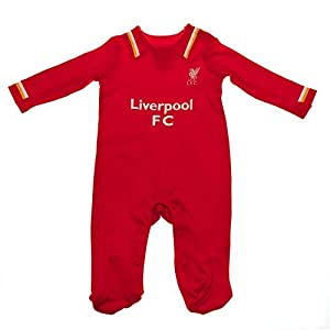 Liverpool F.C. Official Sleepsuit-Multi-Colour, 0-3 Months from Liverpool