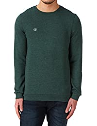 Volcom a4611450BLB icon sweat-shirt à à encolure ras du cou pour homme