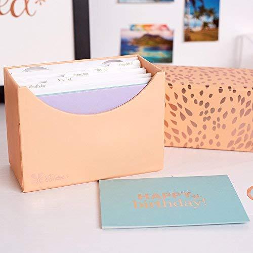 Erin Condren Schreibwaren-Set - alle Anlässe Grußkarten 15 Karten und Umschläge mit Versiegelungsaufkleber für Geburtstage, Danke, Glückwünsche, Inspiration und Unterstützung.