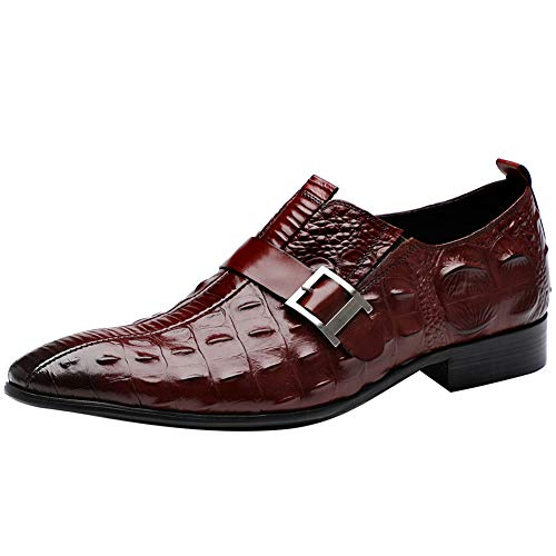 Aufzug Schuhe Mens Formal Dress Schuh Wing Tip Lace Up Slip On Fashion Oxford Lederschuhe für Männer,3,37 (Schnürsenkel Schwarz Schuhe Mens Dress)