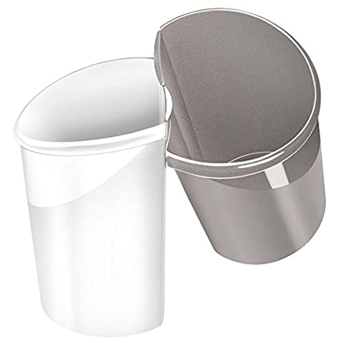CEP 15 Litre Isis Xtra Strong Waste Tub - Arctic White
