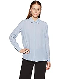 Van Heusen Women's Striped Regular Fit Shirt