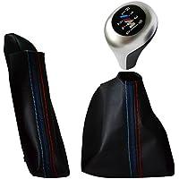 Neoxiim E-SET-E60-E61-6G-M-Matt Pomello Cromato Opaco in Vera Pelle e Logo Cuciture Freno Blu Scuro Rosso